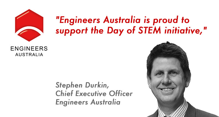Engineers Australia Proudly Partners on the Day of STEM