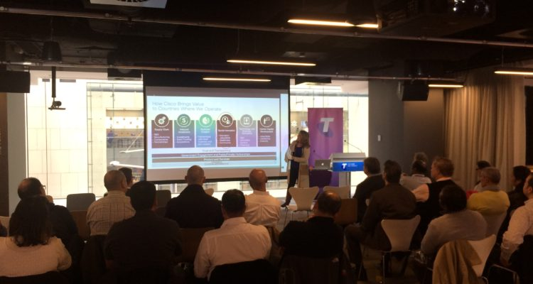 Day of STEM Participates in Cisco Networking Academy Instructors Conference Series