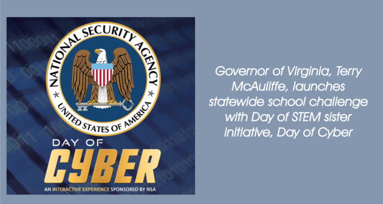 Governor of Virginia, Terry McAuliffe, Launches Statewide Cyber School Challenge