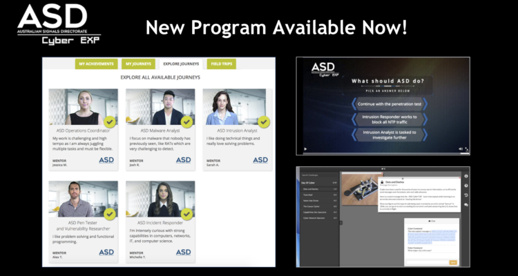 ASD Cyber EXP Program Now Available!