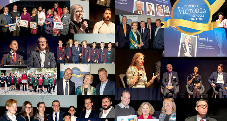 Highlights from the Cyber Victoria Schools Challenge Awards