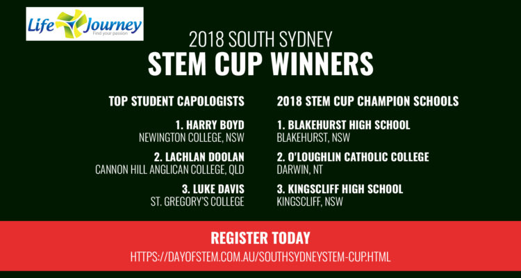 Leading Student Capologists Recognised for 2018 South Sydney STEM Cup