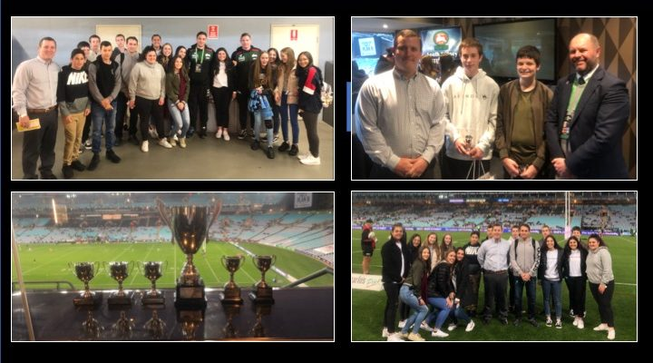 Student Capologists Recognised at ANZ Stadium